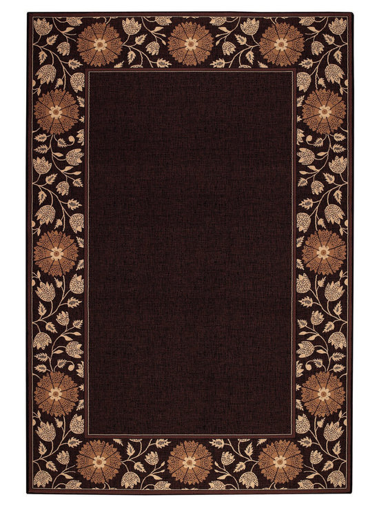 """Satin Kimono rug in Onyx - The crisp, traditional designs, fashion forward colorations and extra tight packed pile (1/2"""" thick) will wear like iron and give years and years of superior service."""