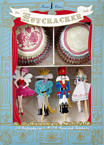The Nutcracker Tale Cupcake Kit modern-christmas-decorations