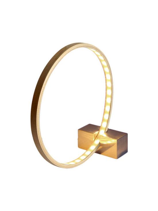 Anna Karlin - Hoops and Stick Lamp - Bespoke Global