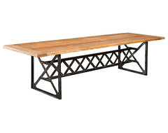 Furniture Classics Bleeker Reclaimed Dining Table contemporary dining tables