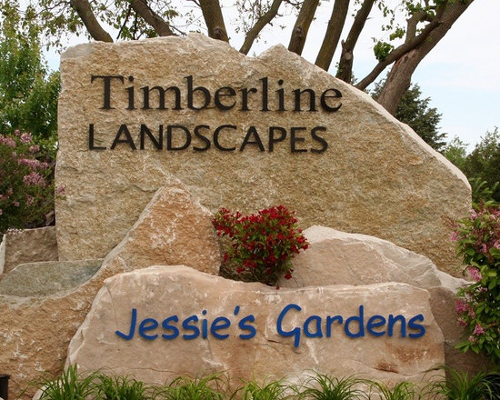 Door County Signstone - Hand selected stone signage. Beautiful!
