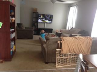 How to arrange furniture in new family room open floor plan for Arrange a room planner