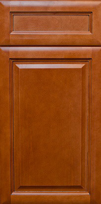 CINNAMON GLAZE / Assembled Kitchen Cabinets kitchen-cabinetry
