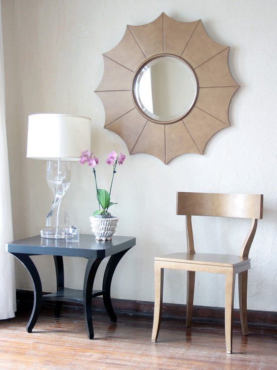 Thomas Chair and Haylie Mirror -