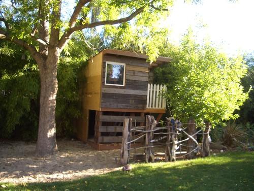 Rustic Kids by Menlo Park Landscape Architects & Landscape Designers Keith Willig Landscape Services, Inc.