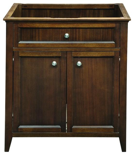 Decolav 5232-MMG Jordan Modular Vanity in Mahogany traditional-bathroom-vanities-and-sink-consoles