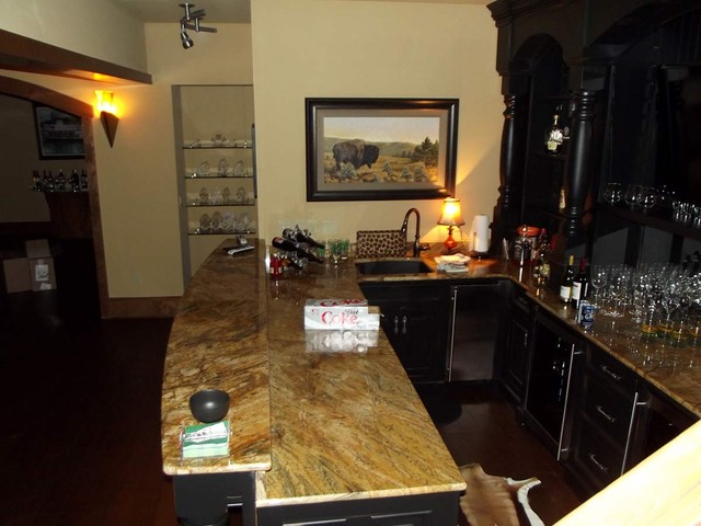 Bland Trophy Room addition and remodeling project traditional
