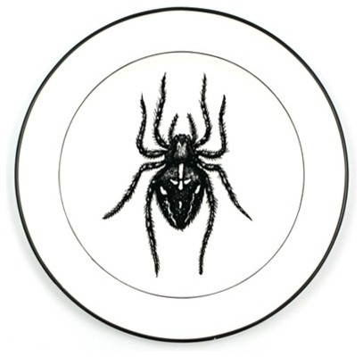 Natural Curiosities Dinner Plate, Spider - Eclectic - Dinner Plates - by Neatoshop