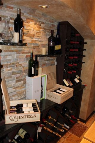 Home Bar traditional-wine-cellar