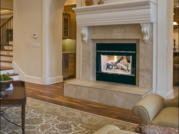 Heat Amp Glo Hst See Through Wood Fireplace Indoor