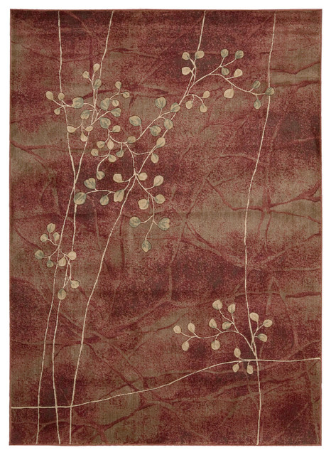 """Nourison Somerset ST74 2' x 2'9"""" Flame Rug contemporary-rugs"""