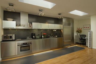 Abelow Sherman Architects LLC modern-kitchen