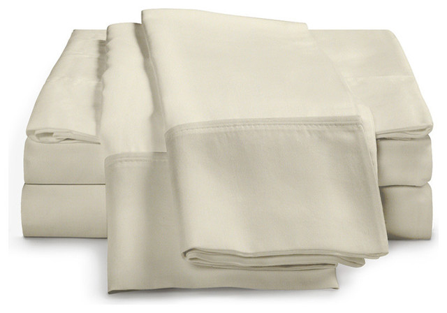 Crisp Percale Sheets by Exceptional Sheets traditional-sheet-and-pillowcase-sets
