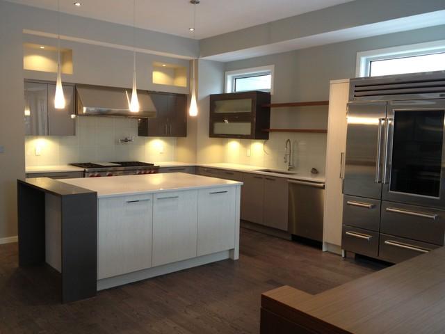 Urban Retreat contemporary-kitchen