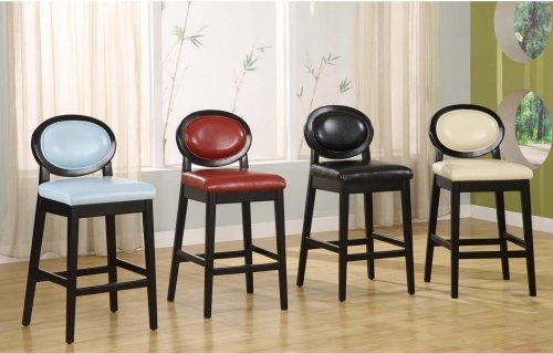 Armen Living Martini 26 In Low Back Counter Stool