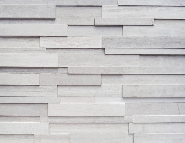 Modern Stone Veneer : Stone that looks like wood contemporary siding and