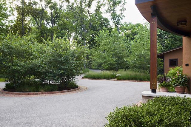 Entry Court contemporary-landscape