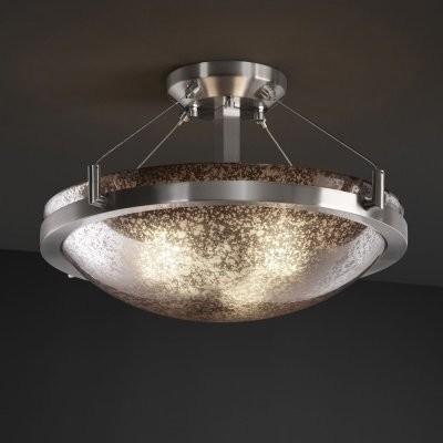 Justice Design Group Fusion FSN-9681-35-MROR-NCKL 18 in. Round Semi-Flush Bowl w modern-ceiling-lighting