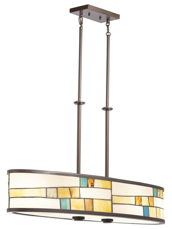 Oval Chandeliers -
