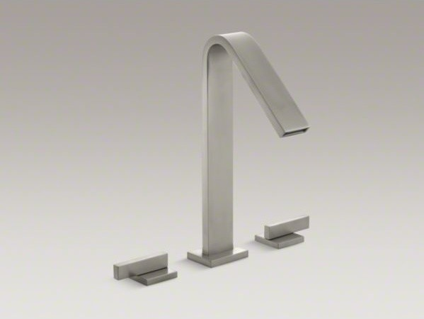 KOHLER Loure R Deck Mount Bath Faucet Contemporary Bathroom Faucets By