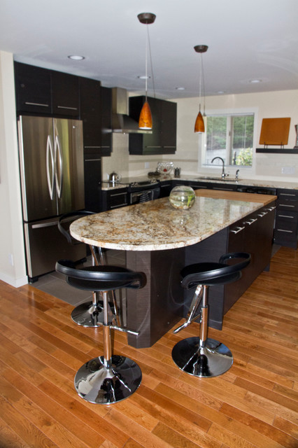 Island modern-kitchen
