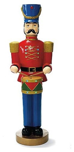 5 39 drummer soldier figure outdoor christmas decorations for Outdoor christmas figures