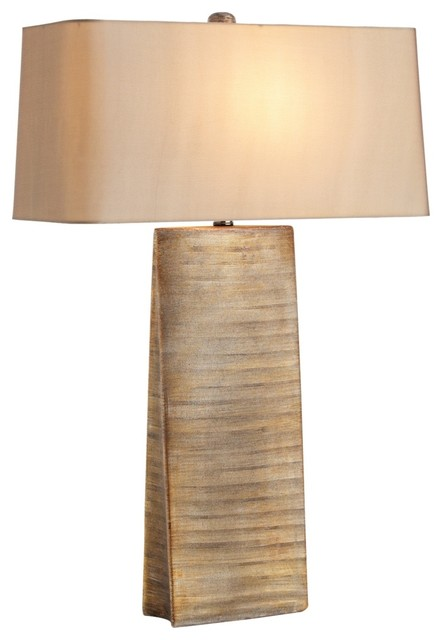 Contemporary Arteriors Home Ravi Scratched Gilt Gold Table Lamp contemporary-table-lamps
