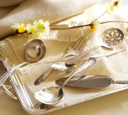 PB Found Silver-Plated Serving Pieces traditional serveware