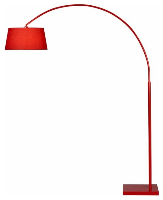 Lantern Arc Floor Lamp CB2 - Modern - Floor Lamps - by CB2