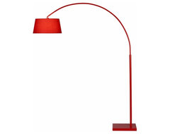 Lantern Arc Floor Lamp CB2 modern-floor-lamps