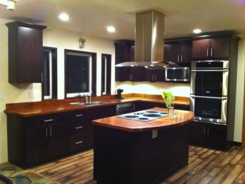 Dark Brown Kitchen Cabinets Pictures Of Kitchens Traditional Dark Wood