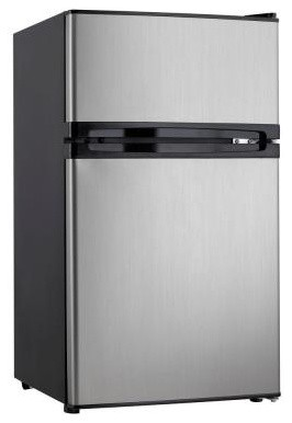 Danby 3 cu. ft. Mini Refrigerator in Spotless Steel DCRM31BSLDD contemporary-refrigerators-and-freezers