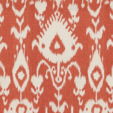 Malabar Coral Fabric mediterranean-upholstery-fabric
