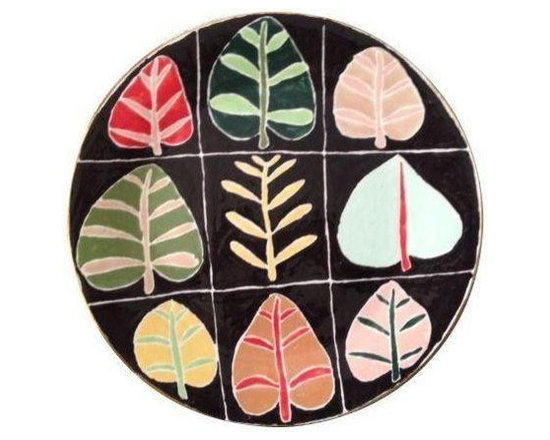 Hand Painted Ceramic Platter by Jill Rosenwald - $500 Est. Retail - $300 on Chai -