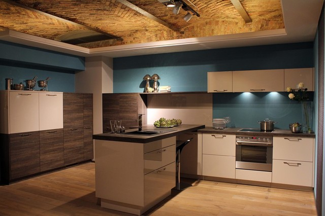 Bauformat kitchens show in germany contemporary kitchen cabinetry los angeles by bauformat - Show picture of kitchen ...