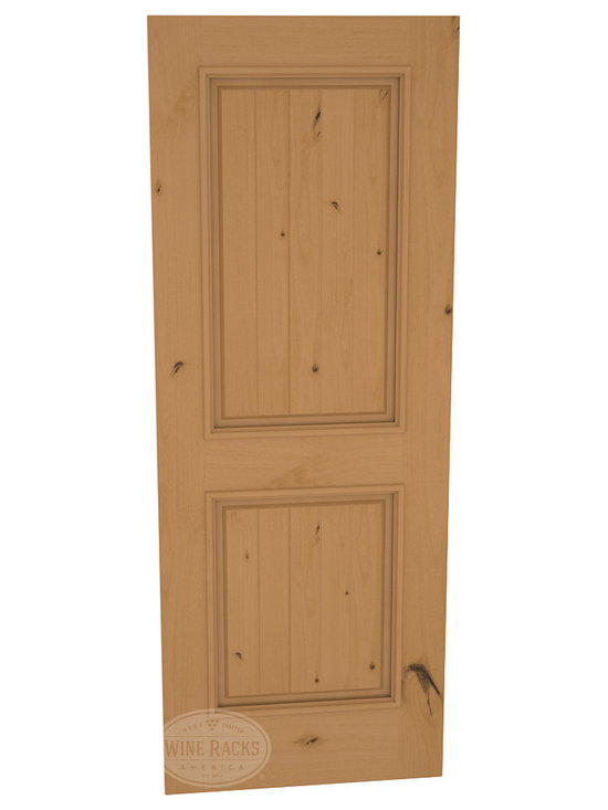 CellarSelect™ Wine Cellar Door: Chardonnay Solid (Oak Stain with Lacquer) -