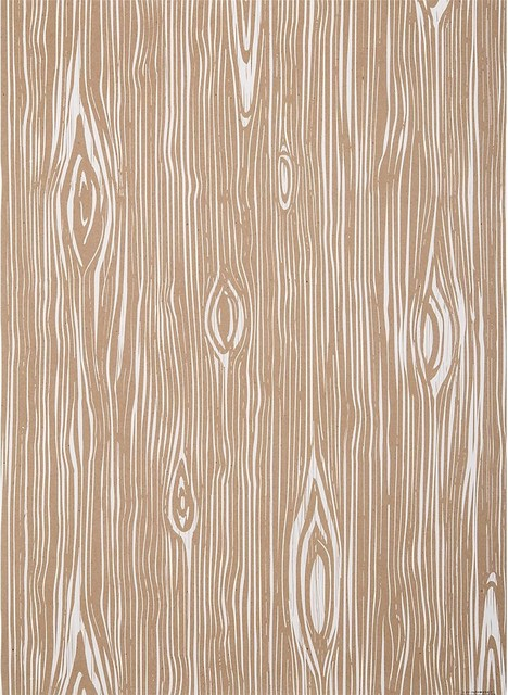 Faux Bois Wrapping Paper eclectic