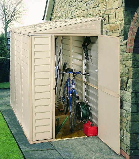 Duramax Sidemate Vinyl Shed - Modern - Sheds - wilmington - by StorageShedsDirect