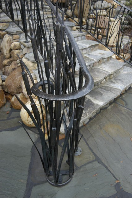 Oak Hill Iron - Railings traditional-exterior