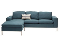 Blu Dot The Standard Left-Hand Sectional Sofa contemporary sofas