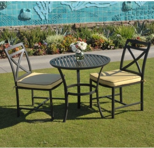 Caluco San Michele Bistro Set traditional-patio-furniture-and-outdoor-furniture