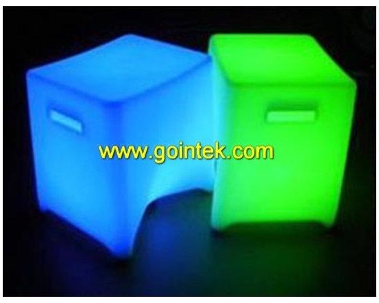 RGB bar stool chair PE color furniture -