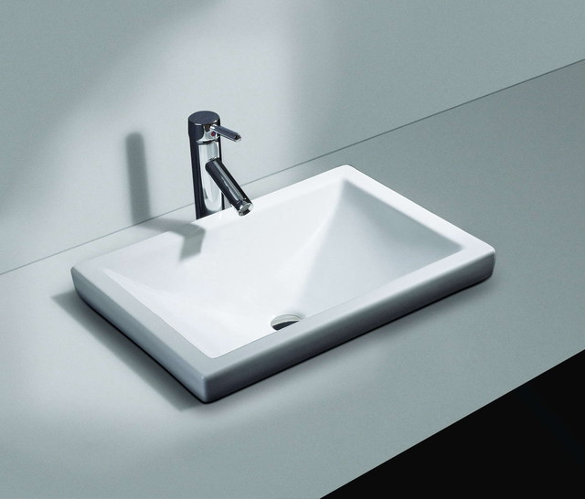 Cantrio PS-111 - contemporary - bathroom sinks - by Quality Bath