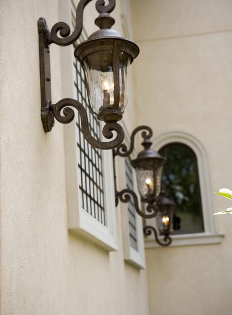 Decorative Lanterns eclectic-outdoor-lighting