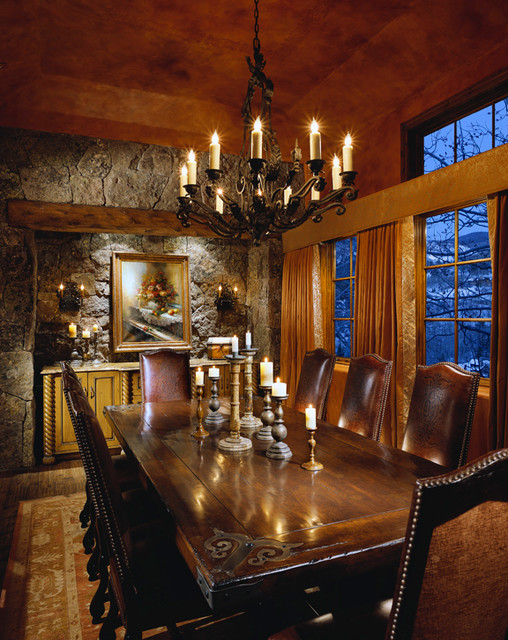 Mountain Formal traditional-dining-room
