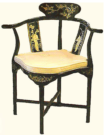 Asian style accent chairs