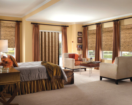 Steve's Exclusive Collection Woven Wood Shades - Woven Folding Panels