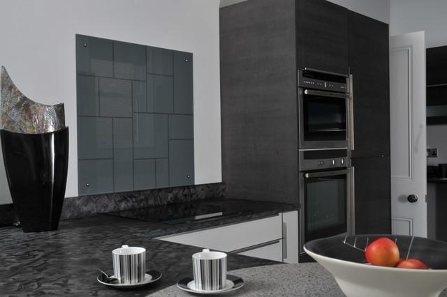 Period property in Manchester modern-kitchen
