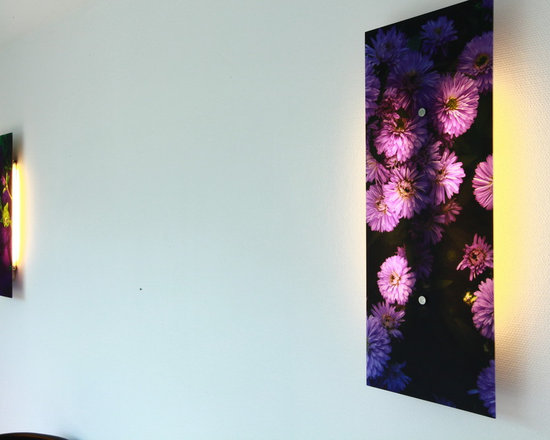 Your German Kitchen - Custom printed glass panel ,can be used also as backsplash