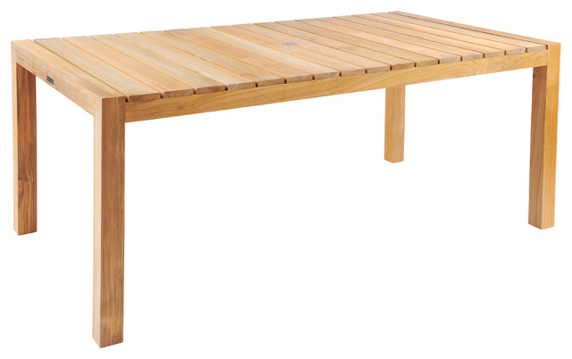 Rectangular Dining Table By Kingsley Bate Modern Outdoor Dining
